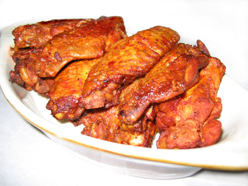 Cajun Recipes-Cajun Chicken Wings